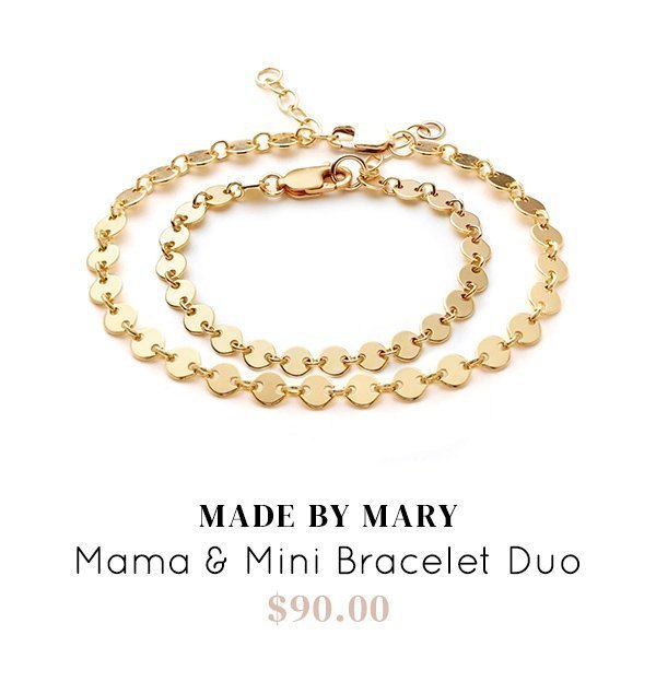 Made by Mary Mama and Mini Bracelet Duo