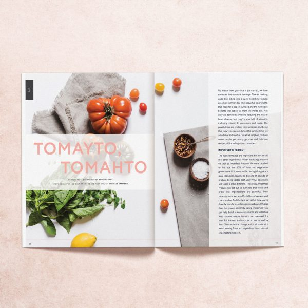 """Featured article """"Tomayto, Tomahto"""" from My Mag's summer 2019 print issue"""