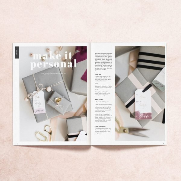 """Featured print article """"Make it Personal"""" from My Mag"""