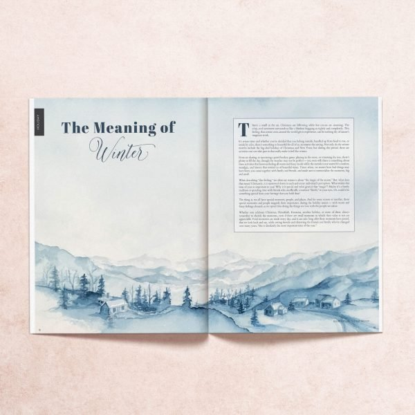 Open print pages from My Mag's winter 2018 issue