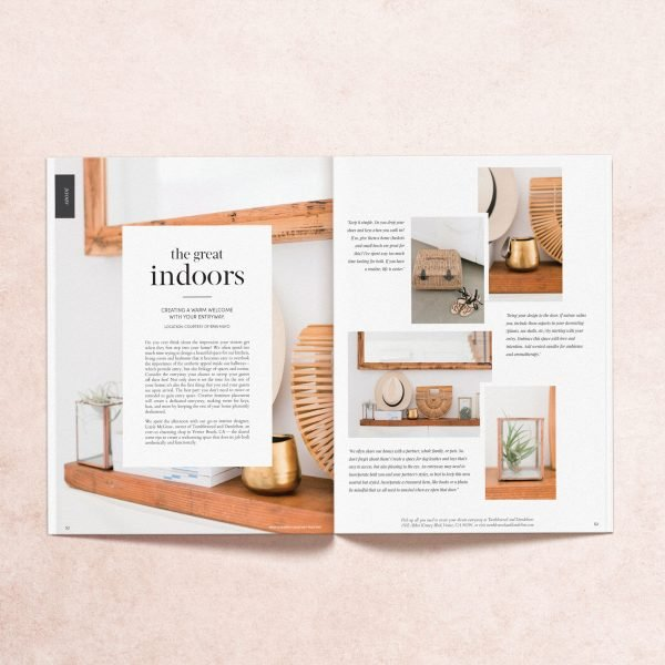 """Featured article titled """"The Great Indoors"""" from My Mag's summer 2018 print issue"""