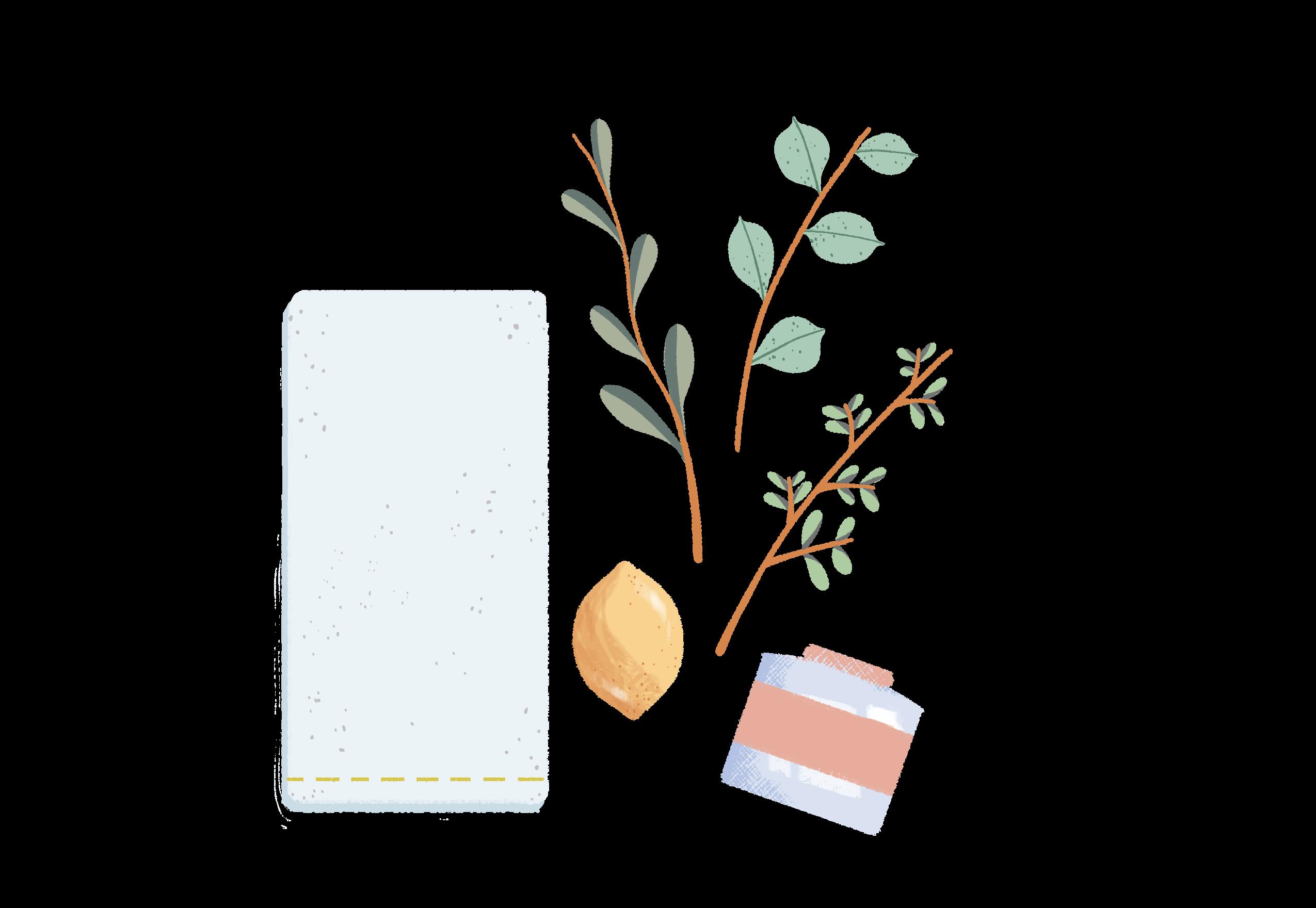 DIY Tea Towel Supplies