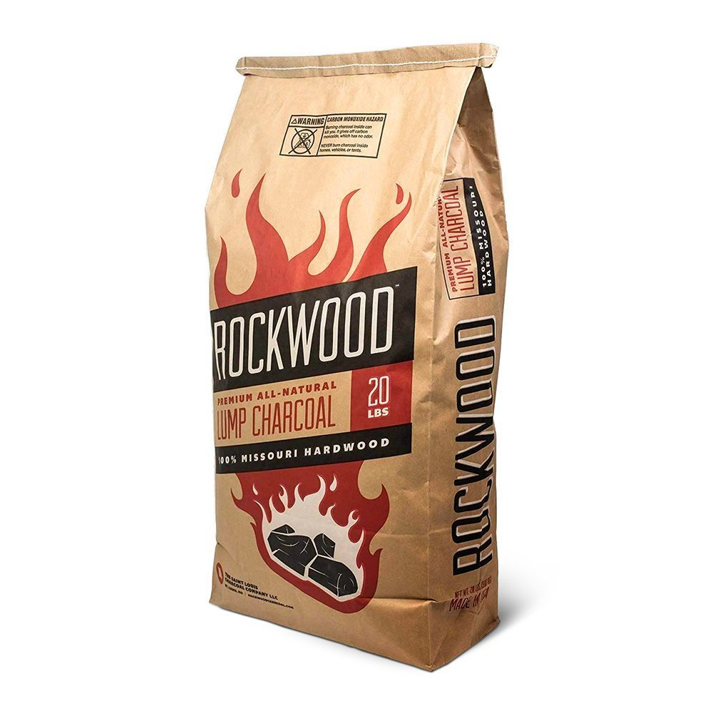 Rockwood - All Natural Hardwood Lump Charcoal